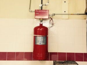 Kitchen Fire Suppression System 2