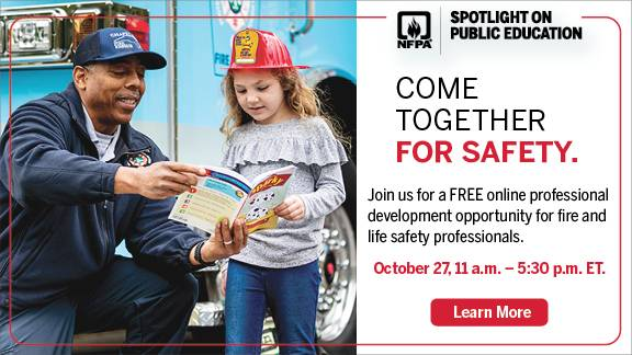 From a Week of Celebrating Fire Safety to Year-Round Fire & Life Safety Education