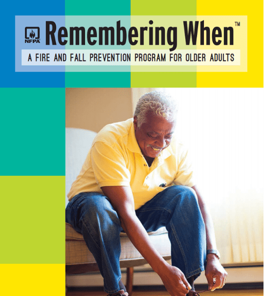 NFPA Receives Grant to Enhance Remembering When™ Fire and Falls Prevention Program for Older Adults, Helping Broaden its Scale a…
